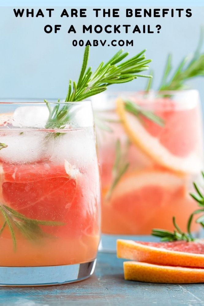 What Are The Benefits of A Mocktail?