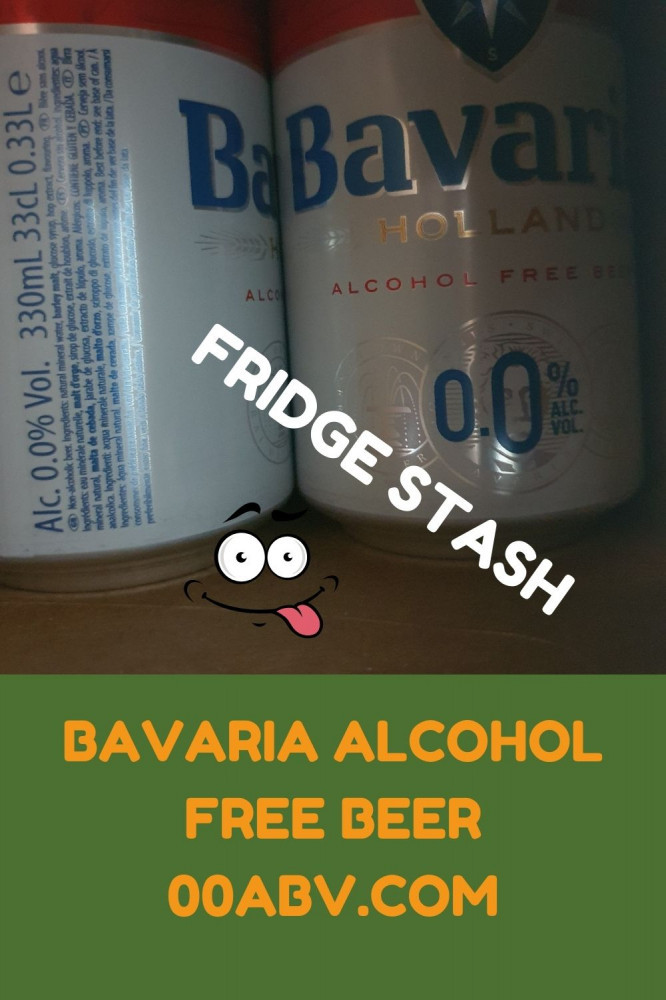 Bavaria Alcohol-Free Beer In A Fridge