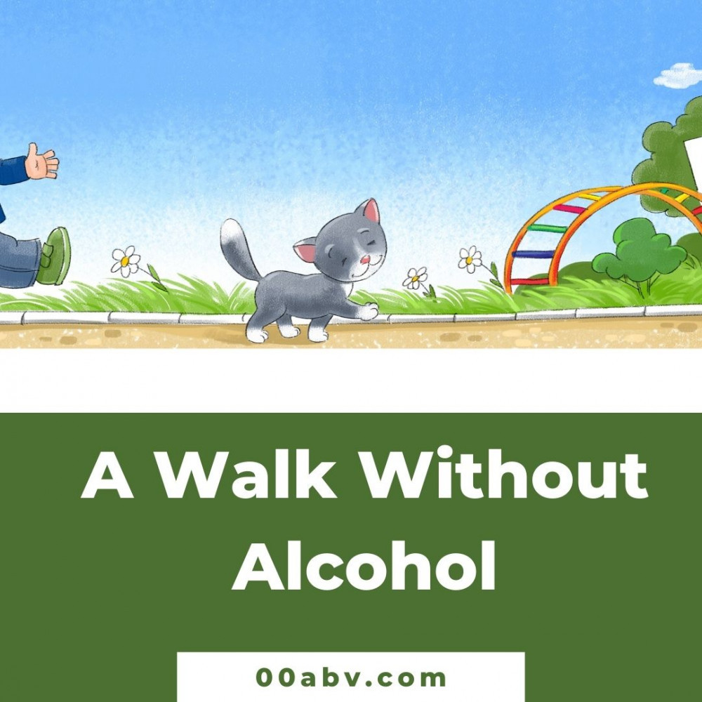 A Walk Is Great When You Give Up Alcohol