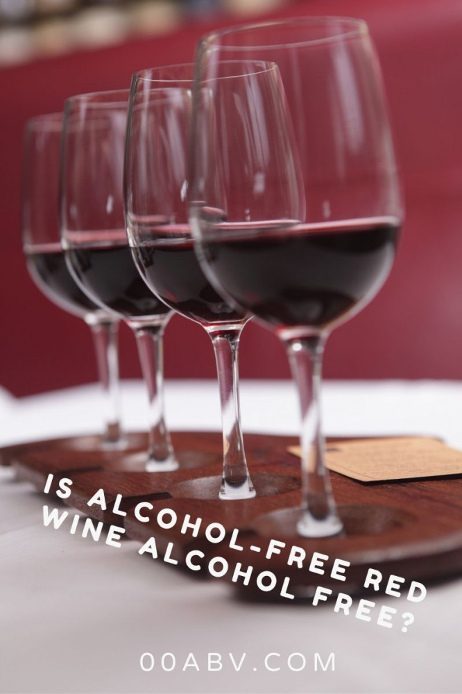 Is alcohol-free wine alcohol free?