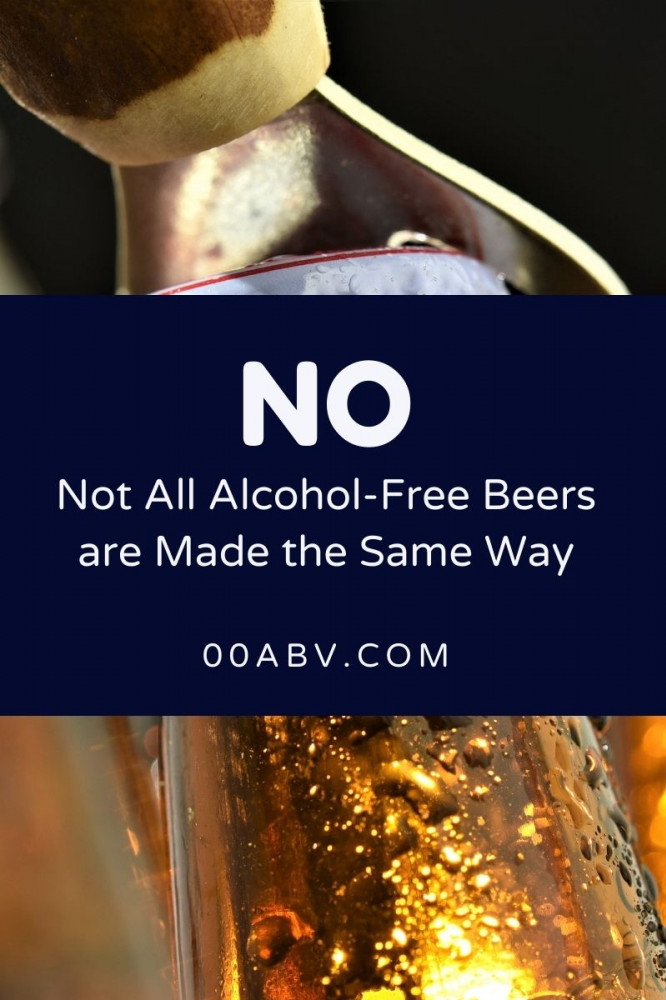 Not All Alcohol-Free Beers are Made the Same Way