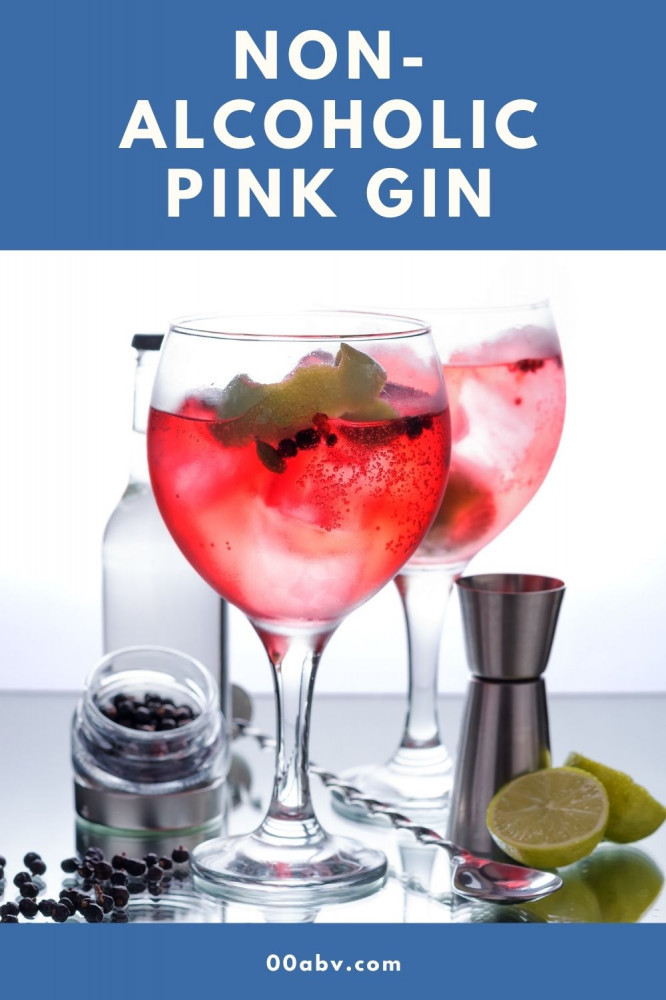 Non-Alcoholic Pink Gin