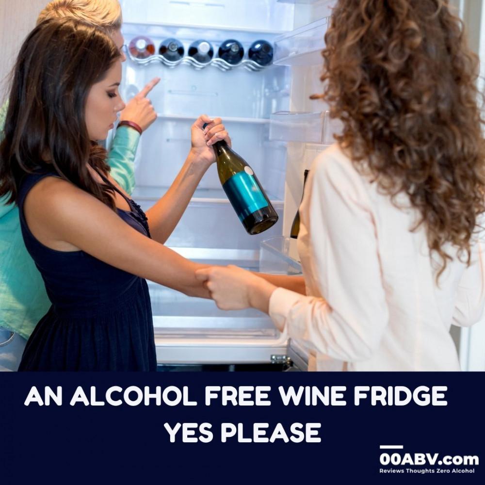 Alcohol-Free Wine Fridge