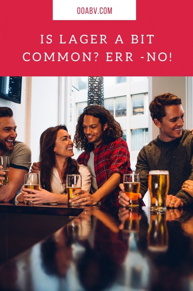 Is Alcohol Free Lager More Down Market ?