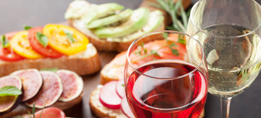 Alcohol Free Wine and Tapas