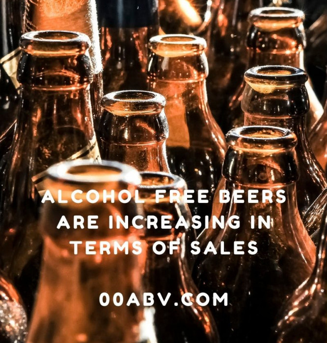 Sales Are Increasing Of Alcohol Free Beer