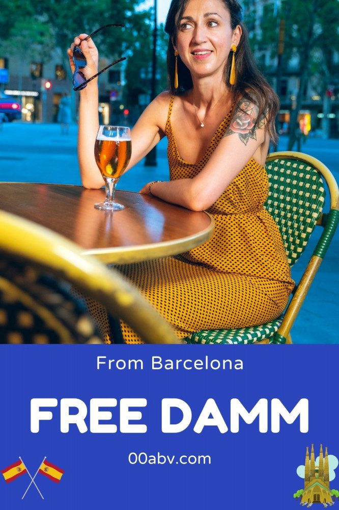 Free Damm From Barcelona