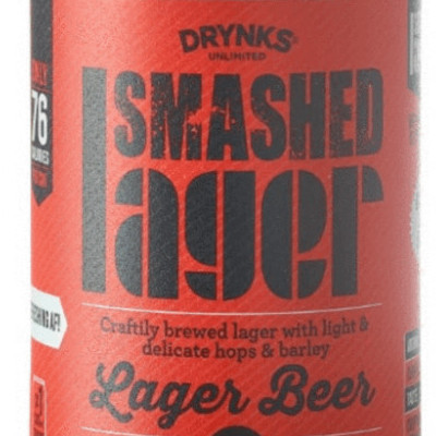 smashed lager