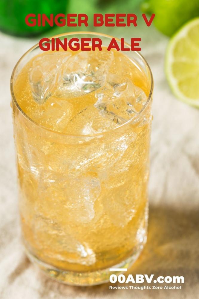 Ginger Beer V Ginger Ale