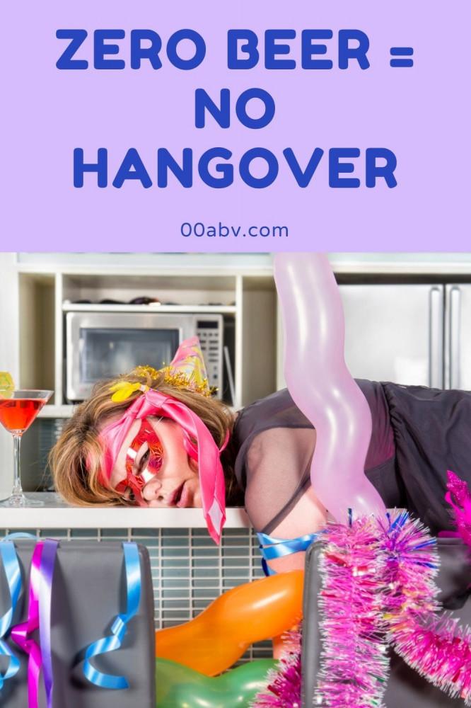 Zero Beer Means No Hangover
