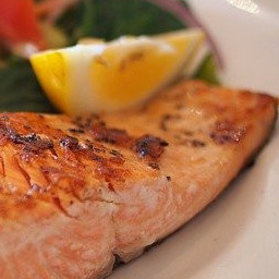 Salmon is good for our mood