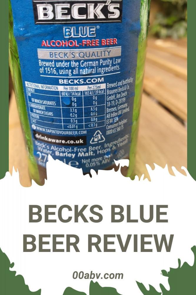 Becks Blue Beer Review