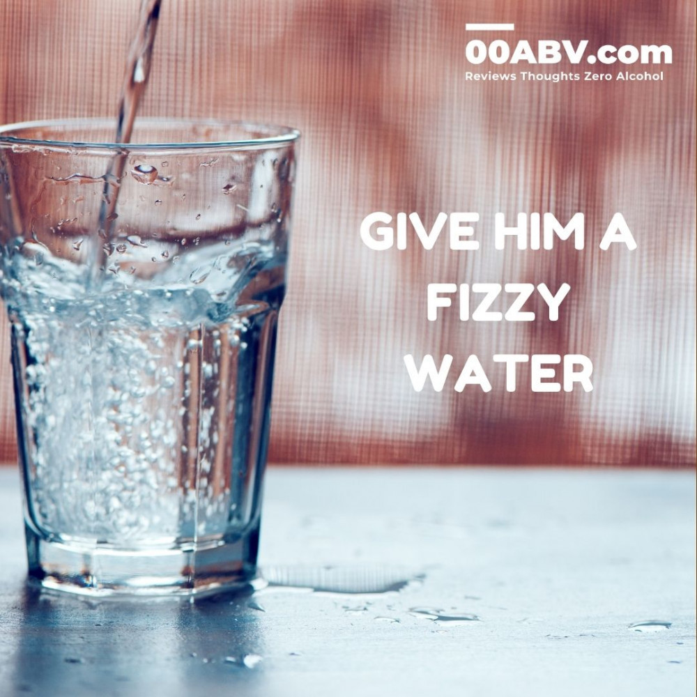 As an alcohol-free drinker you often get offered a fizzy water