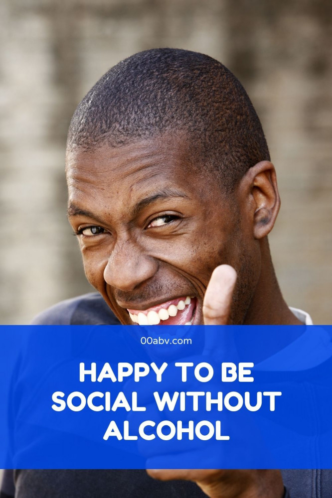 Happy To Be Social WIthout Alcohol