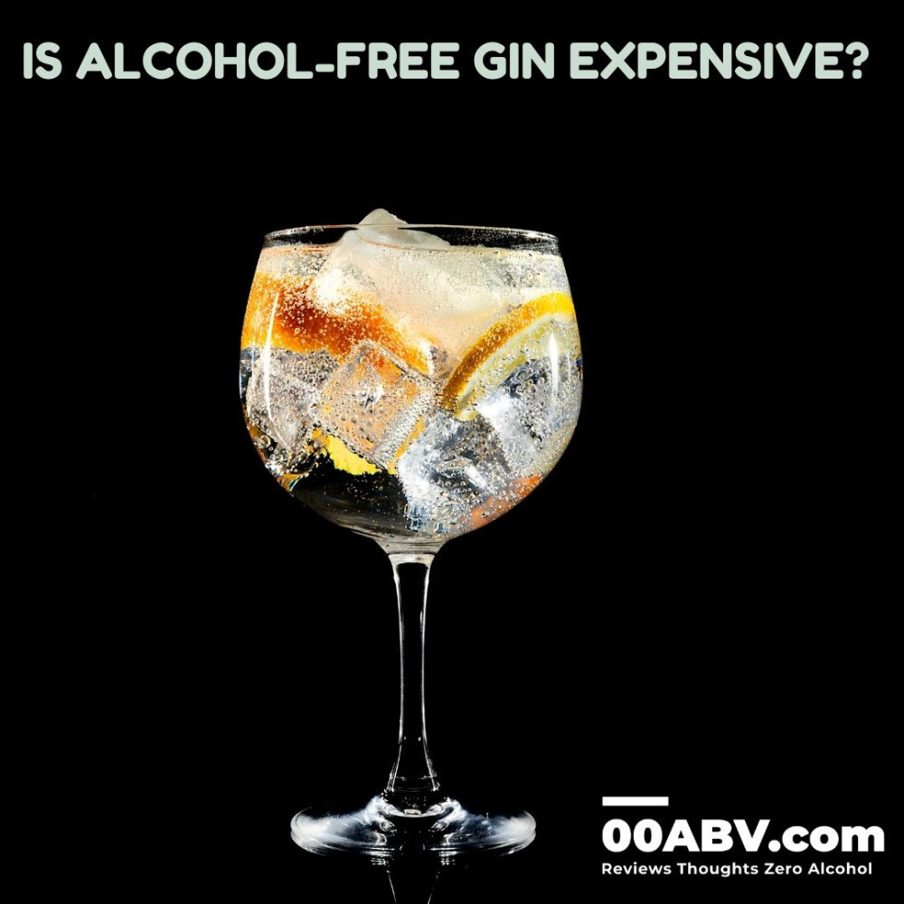 Is Alcohol-Free Gin Expensive?