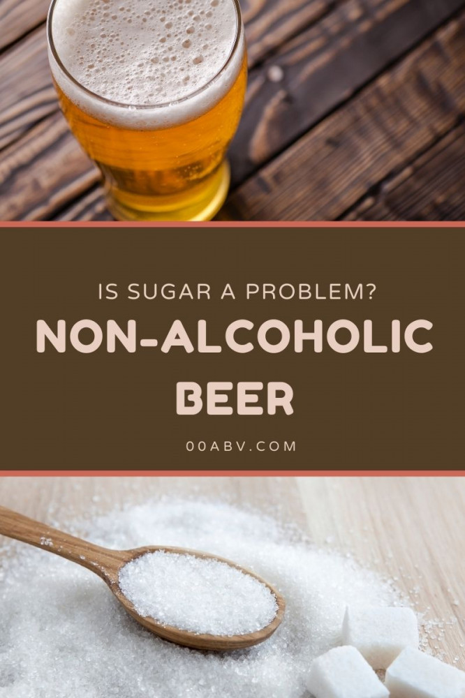 Non-Alcoholic Beer and Sugar