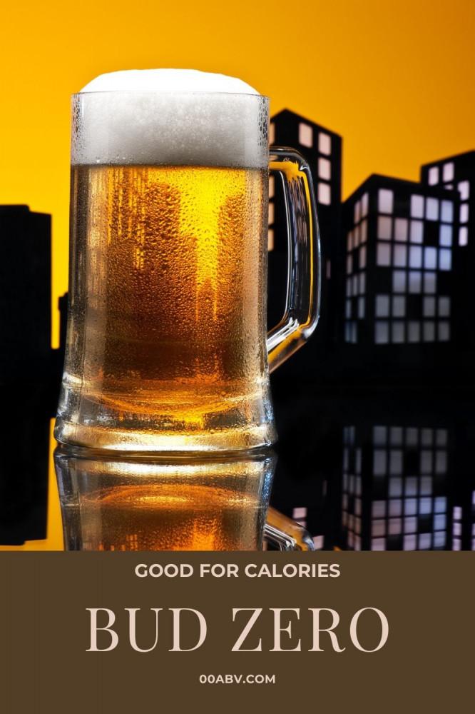 Bud Zero Good For Calories
