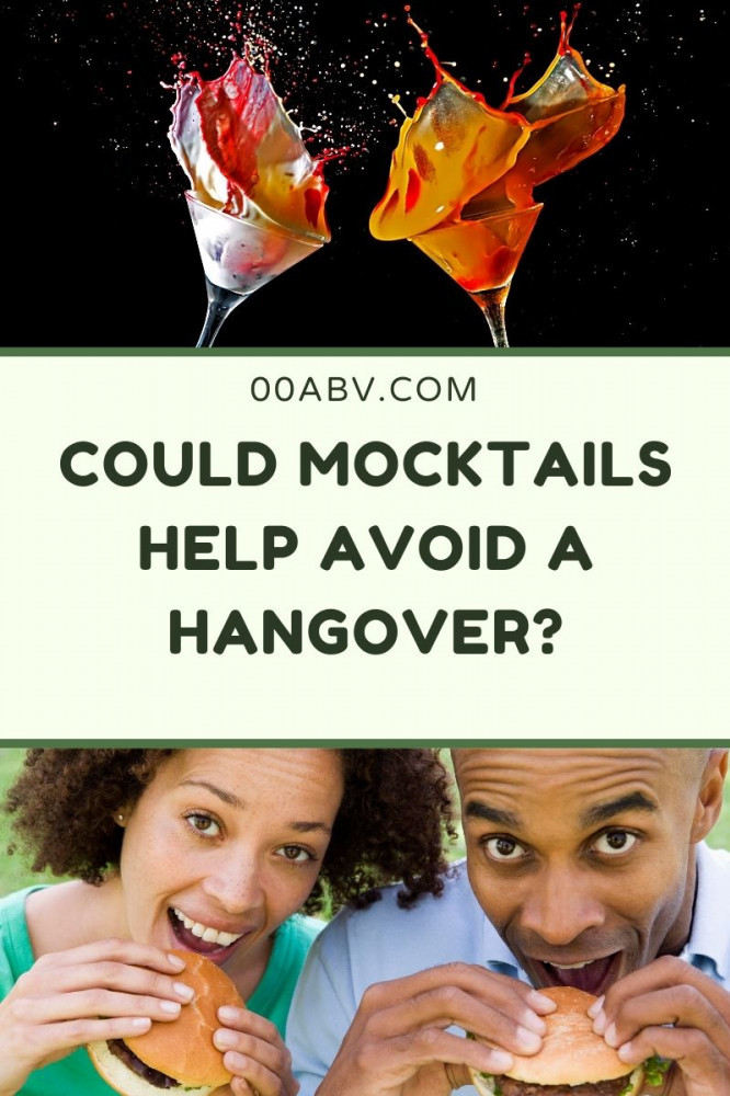 Could A Mocktail Help Avoid A Hangover?