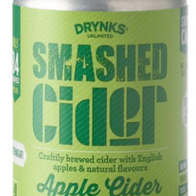 Smashed Cider Alcohol Free
