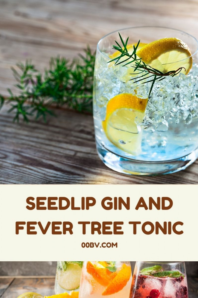 Seedlip and Fever Tree Tonic Water