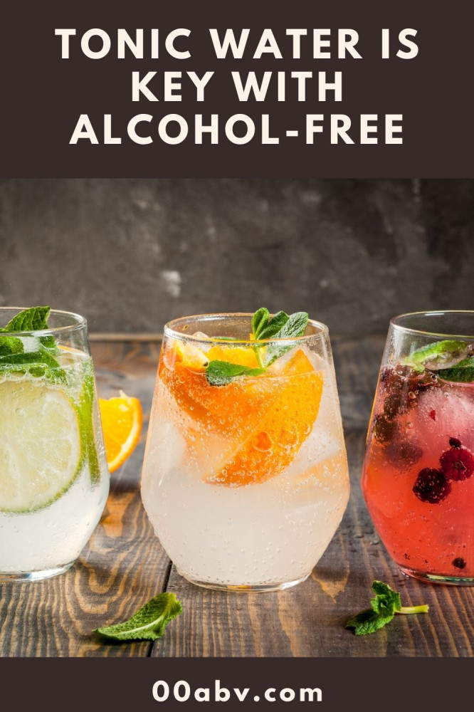Tonic Water Is Key with Alcohol-Free Gin