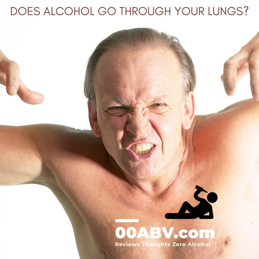 Does Alcohol Go Through Your Lungs ?