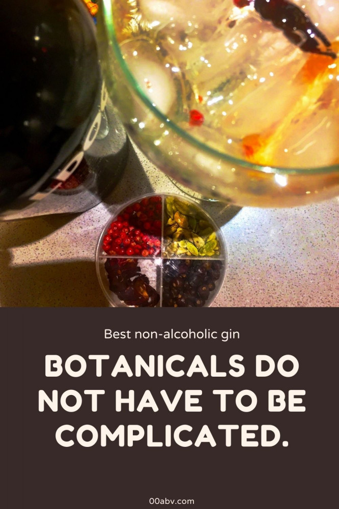 Botanicals and Alcohol-Free Gin