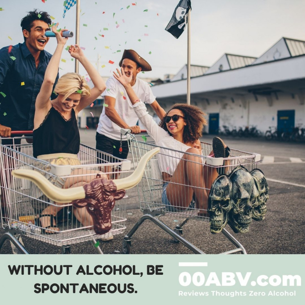 Be Spontaneous with alcohol