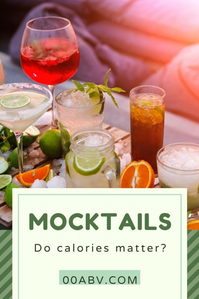 Mocktails and Calories