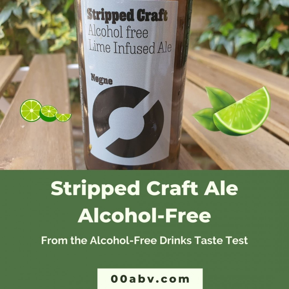 """Nøgne """"Stripped Craft"""" Lime Infused Ale 0.0 % Review"""
