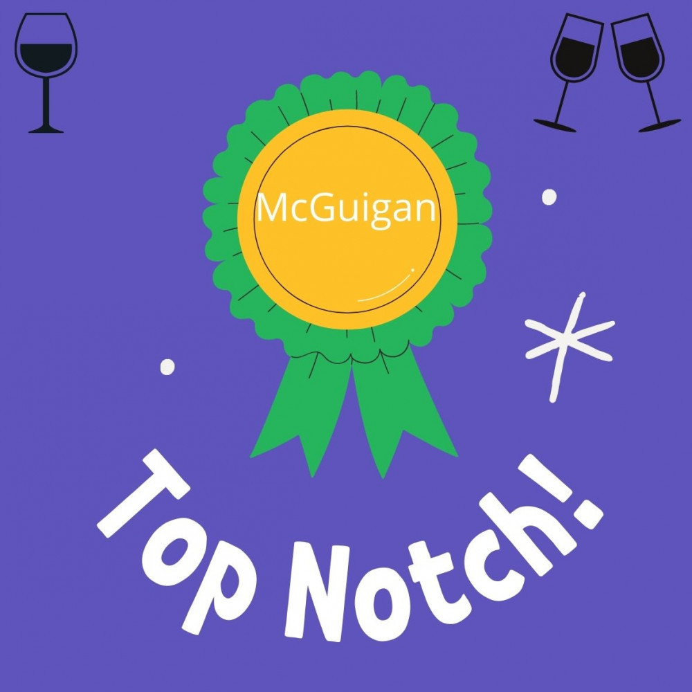 Several McGuigan products have won awards