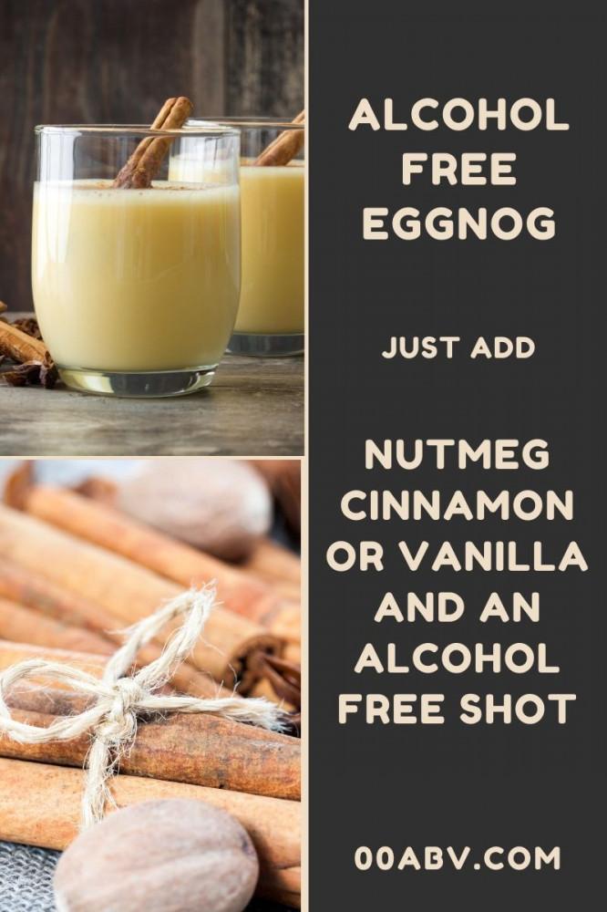 Alcohol Free Eggnog with Nutmeg