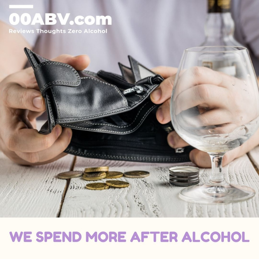 We spend more after drinking alcohol