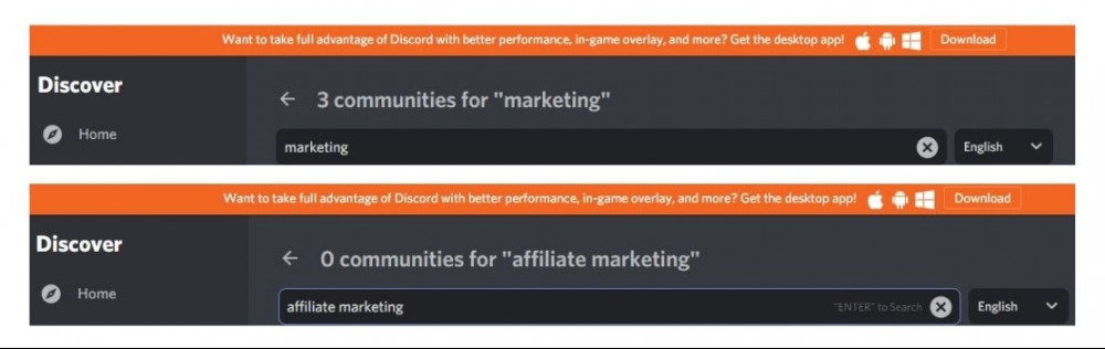 discord marketing and affiliate marketing