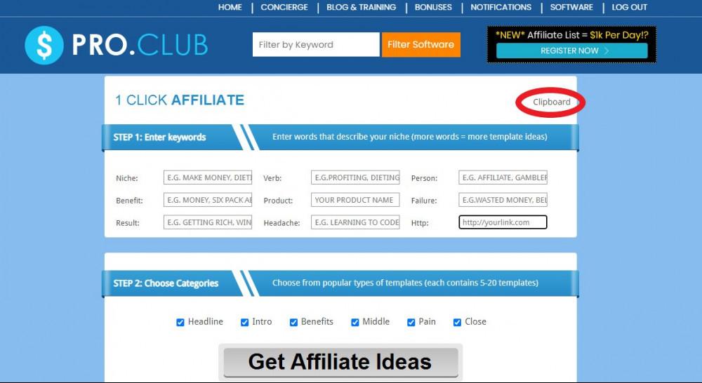 1 click affiliate copy bot affiliate bots v2.05