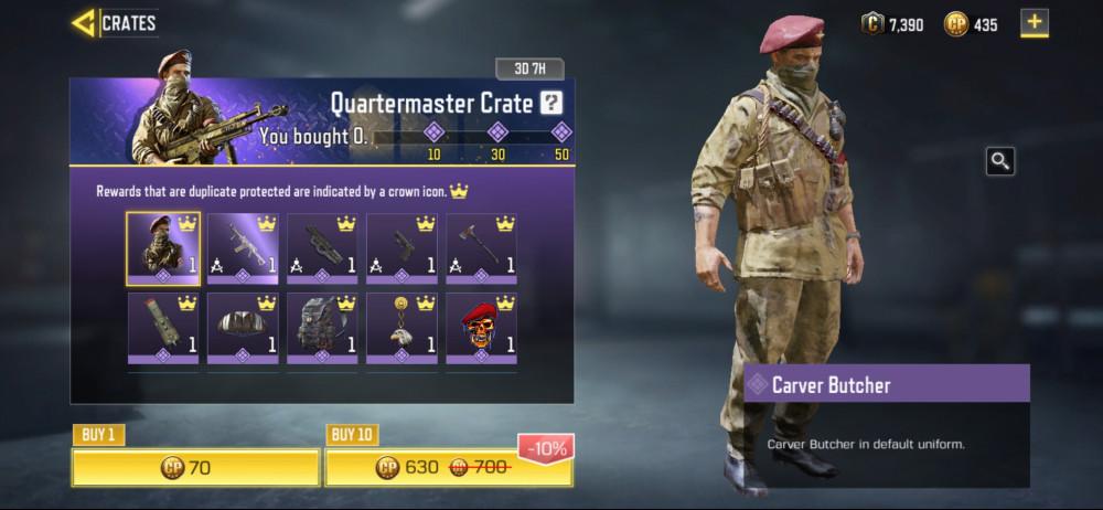 Quartermaster Crate