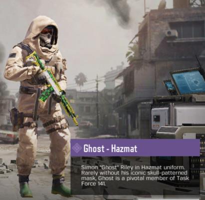Ghost - Hazmat
