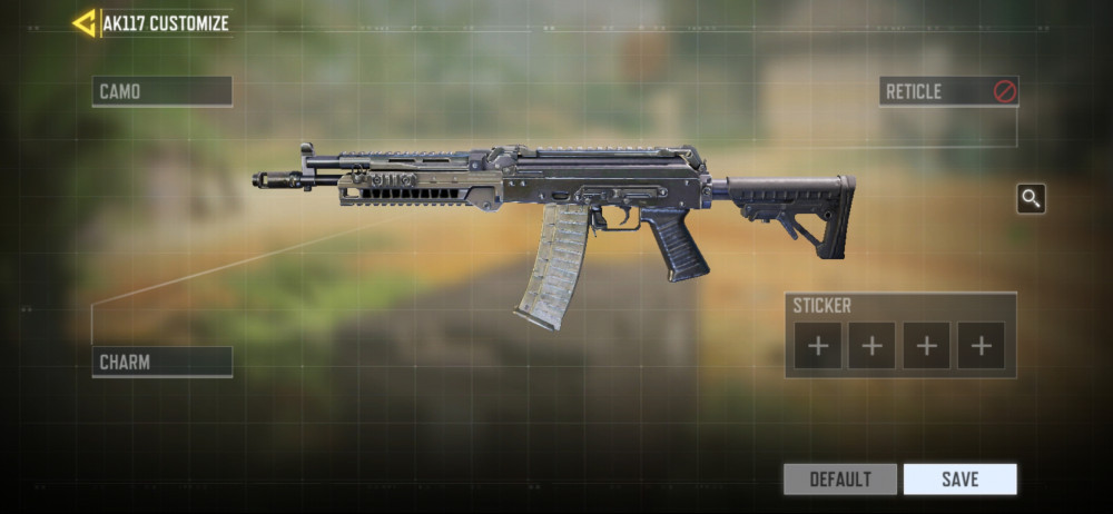 AK117 Customize