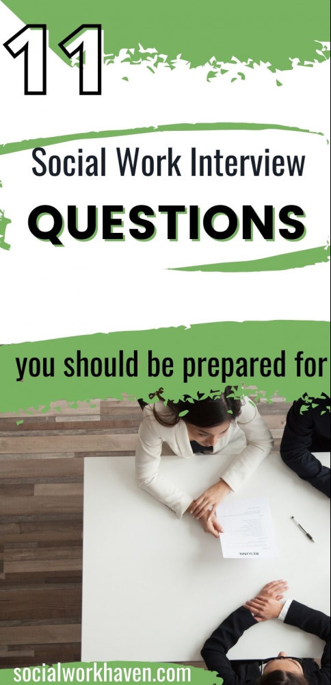 social work interview questions