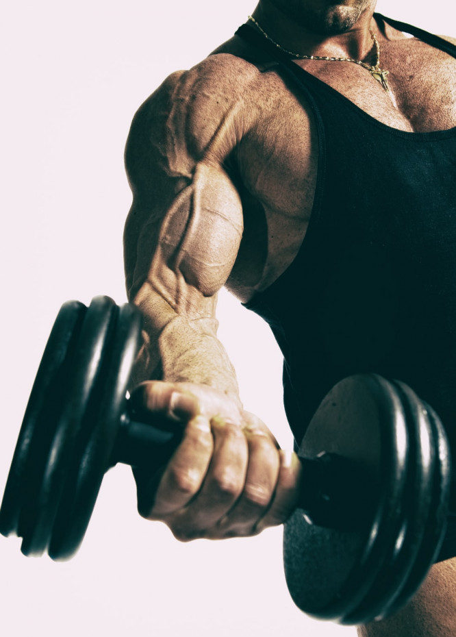 Biceps Exercise with Dumbbell