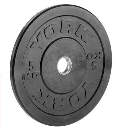 York Olympic Rubber Bumper Plates