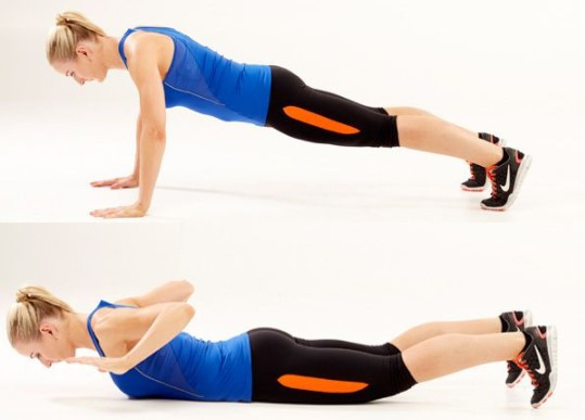 A-hand-release-push-up