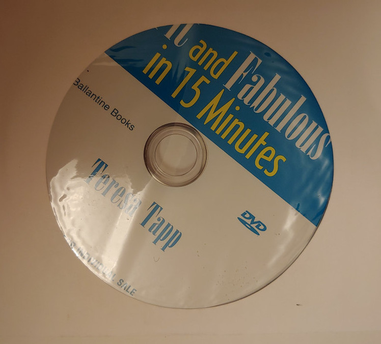 image of DVD that comes with book