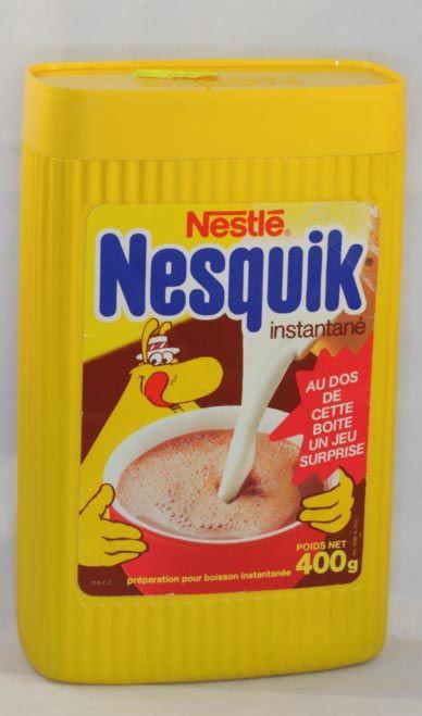 Nesquik packaging