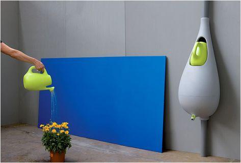 Raindrop water collector