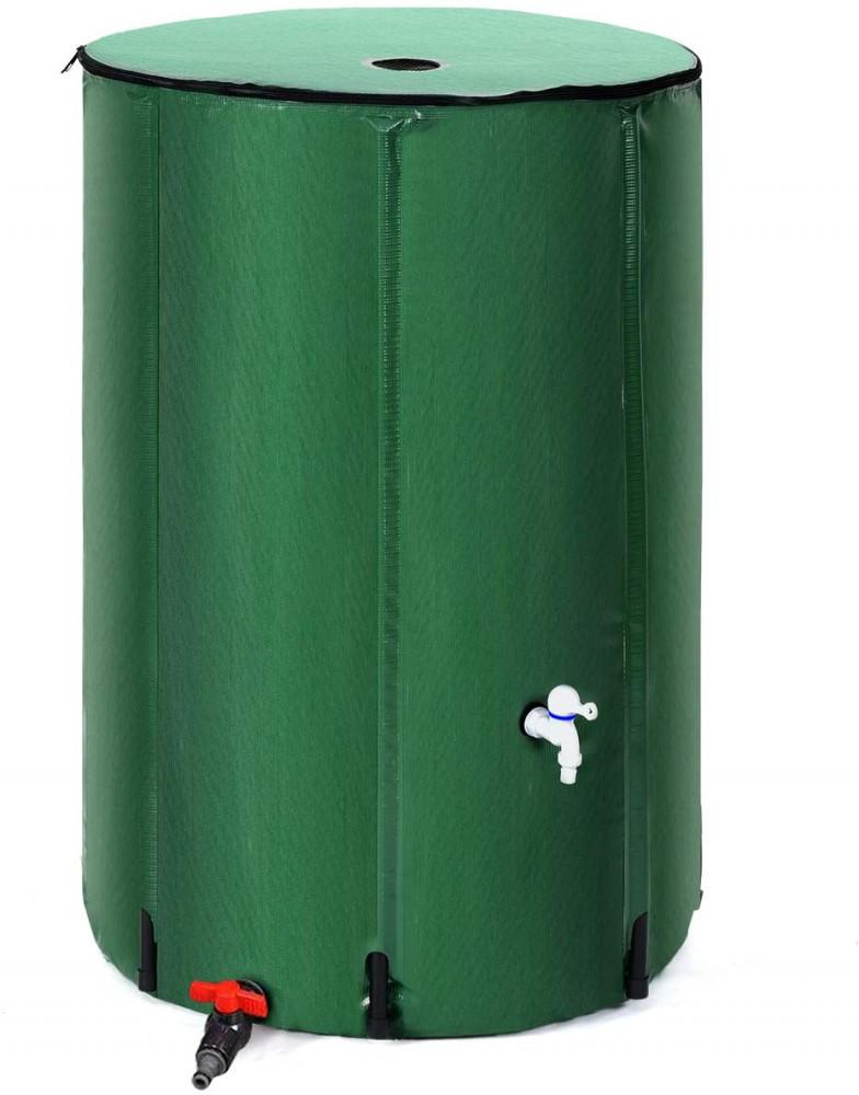 Goplus portable rain barrel