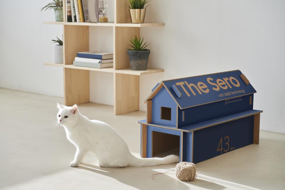 Samsung cat house