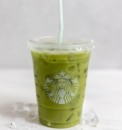 Starbuck matcha frappucino