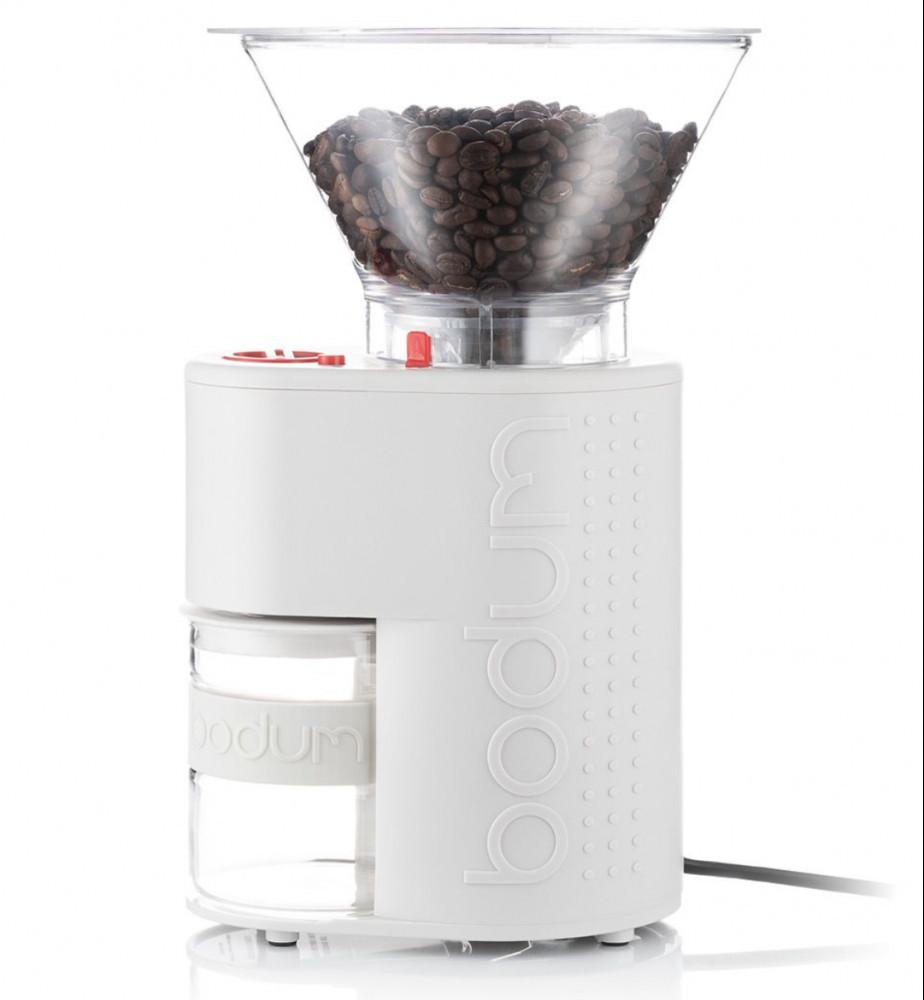 Bodum white coffee grinder