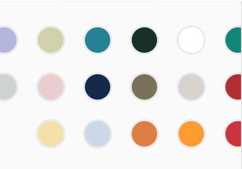 Bodum Color Scheme